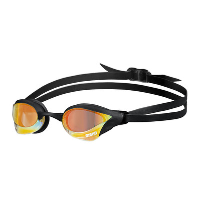 ARENA - COBRA CORE SWIPE MIRROR - Lunettes de natation yellow copper/black