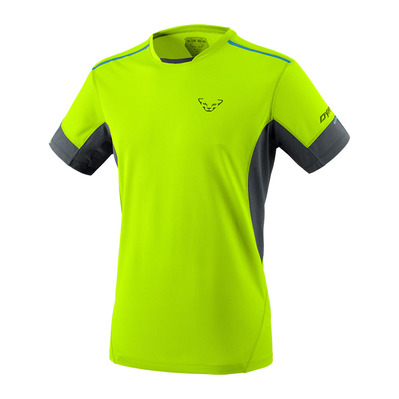 DYNAFIT - VERT 2 M S/S TEE Homme fluo yellow/0936