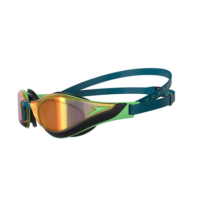 SPEEDO - FASTSKIN PURE FOCUS MIRROR - Swimming Goggles - blue/green
