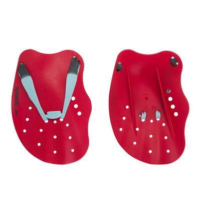 SPEEDO - TECH PADDLE - Plaquettes red/blue/grey