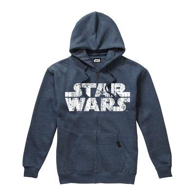 Star Wars Rebel Logo /& Text Felpa Uomo