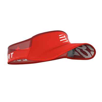 COMPRESSPORT - ULTRALIGHT - Visier - red