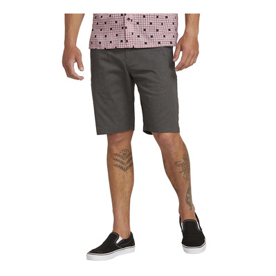 VOLCOM - FRCKN MDN STRCH - Shorts - Men's - charcoal heather