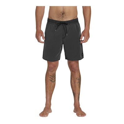 VOLCOM - CENTER TRUNK - Boardshort Homme black