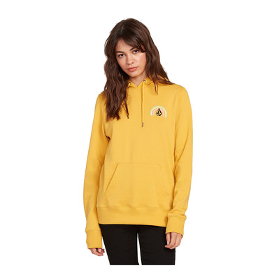 VOLCOM - VOL STONE - Sweat Femme sunrise