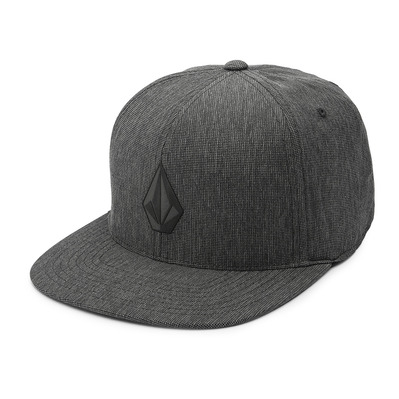 VOLCOM - STONE TECH 110 - Casquette Homme charcoal heather