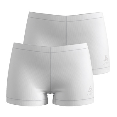 ODLO - SUW Bottom Panty ACTIVE CUBIC LIGHT 2 Pa Femme white
