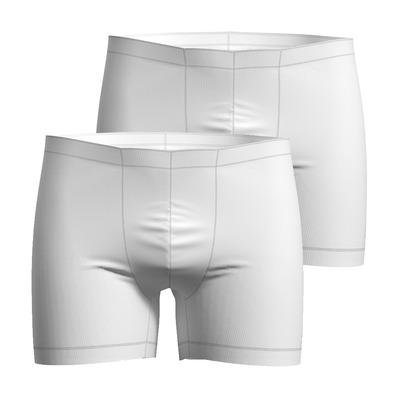 ODLO - ACTIVE CUBIC LIGHT - Boxer x2 Homme white