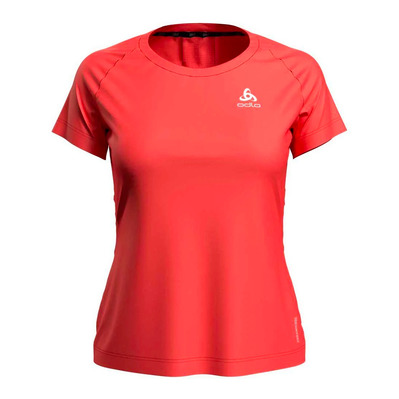 ODLO - CERAMICOOL ELEMENT - Maillot Femme hot coral