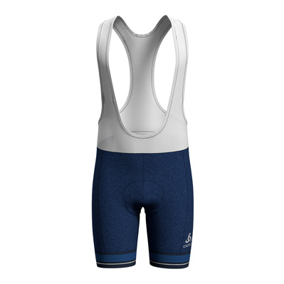 ODLO - Tights short suspenders ZEROWEIGHT Homme estate blue melange