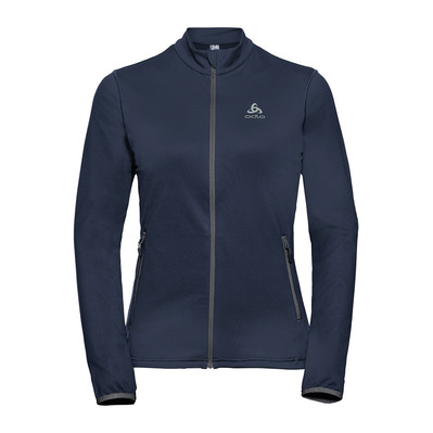 ODLO - Midlayer full zip ALAGNA Femme diving navy