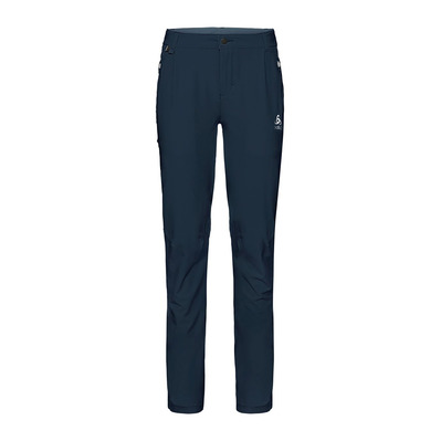 ODLO - KOYA CERAMICOOL - Pantaloni Donna diving navy