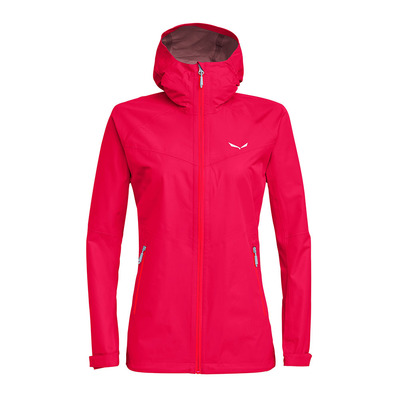 SALEWA - AQUA 3 - Jacket - Women's -rose red