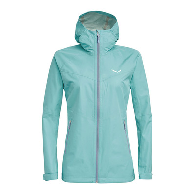 SALEWA - AQUA 3 POWERTEX - Jacket - Women's -canal blue