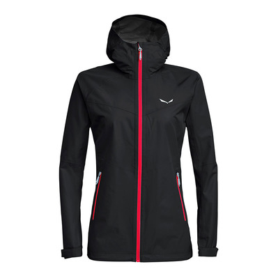 SALEWA - AQUA 3 POWERTEX - Jacket - Women's -black out