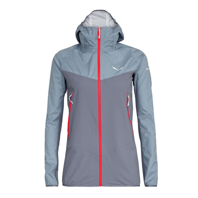 SALEWA - AGNER POWERTEX 3L - Jacket - Women's -flint stone/0450/6080