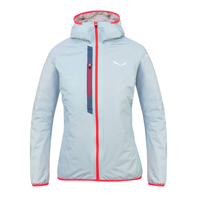 SALEWA - PUEZ LIGHT POWERTEX - Jacket - Women's -blue fog