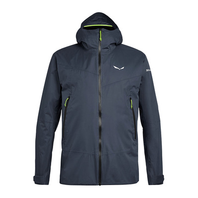 SALEWA - CLASTIC 2 POWERTEX 2L - Jacket - Men's - ombre blue