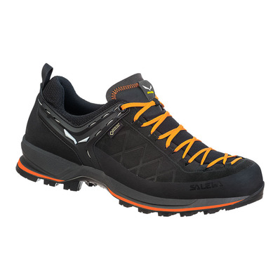 SALEWA - MTN TRAINER 2 GTX - Hiking Shoes - Men's - black/carrot