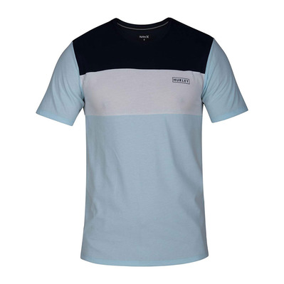 HARVEY BLOCKED - Tee-shirt Homme topaz mist