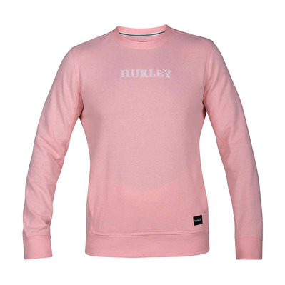 ATLAS CREW - Sweat Homme storm pink