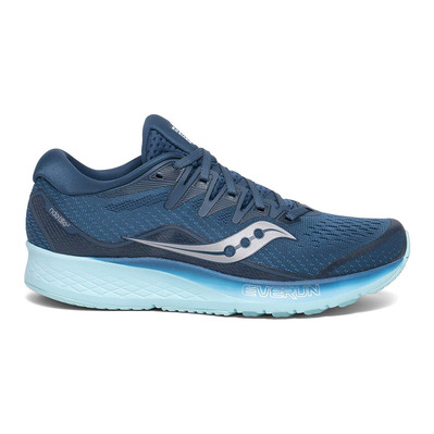 SAUCONY - RIDE ISO 2 - Chaussures running Femme blue/aqua