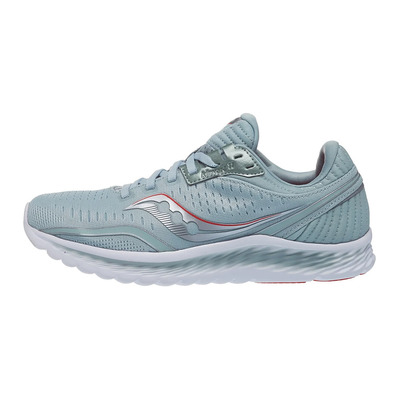SAUCONY - KINVARA 11 - Chaussures running Femme sky grey/coral