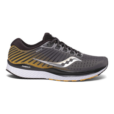 SAUCONY - GUIDE 13 - Chaussures running Homme grey/yellow