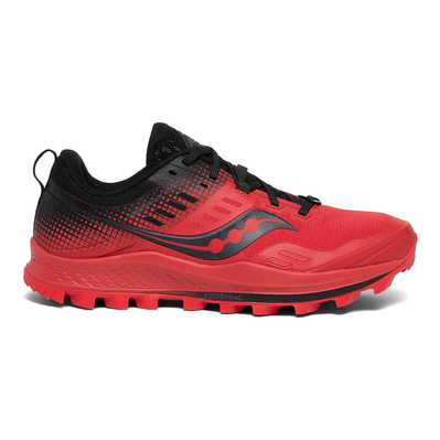 SAUCONY - PEREGRINE 10 ST Homme RED/BLACK