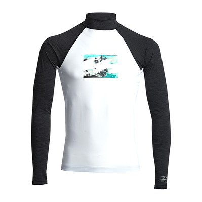 BILLABONG - TEAM WAVE LS Homme WHITE