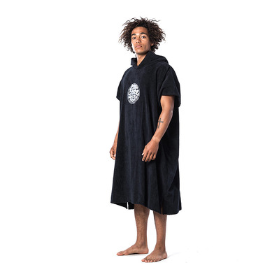 RIP CURL - CHANGE - Poncho surf Homme black