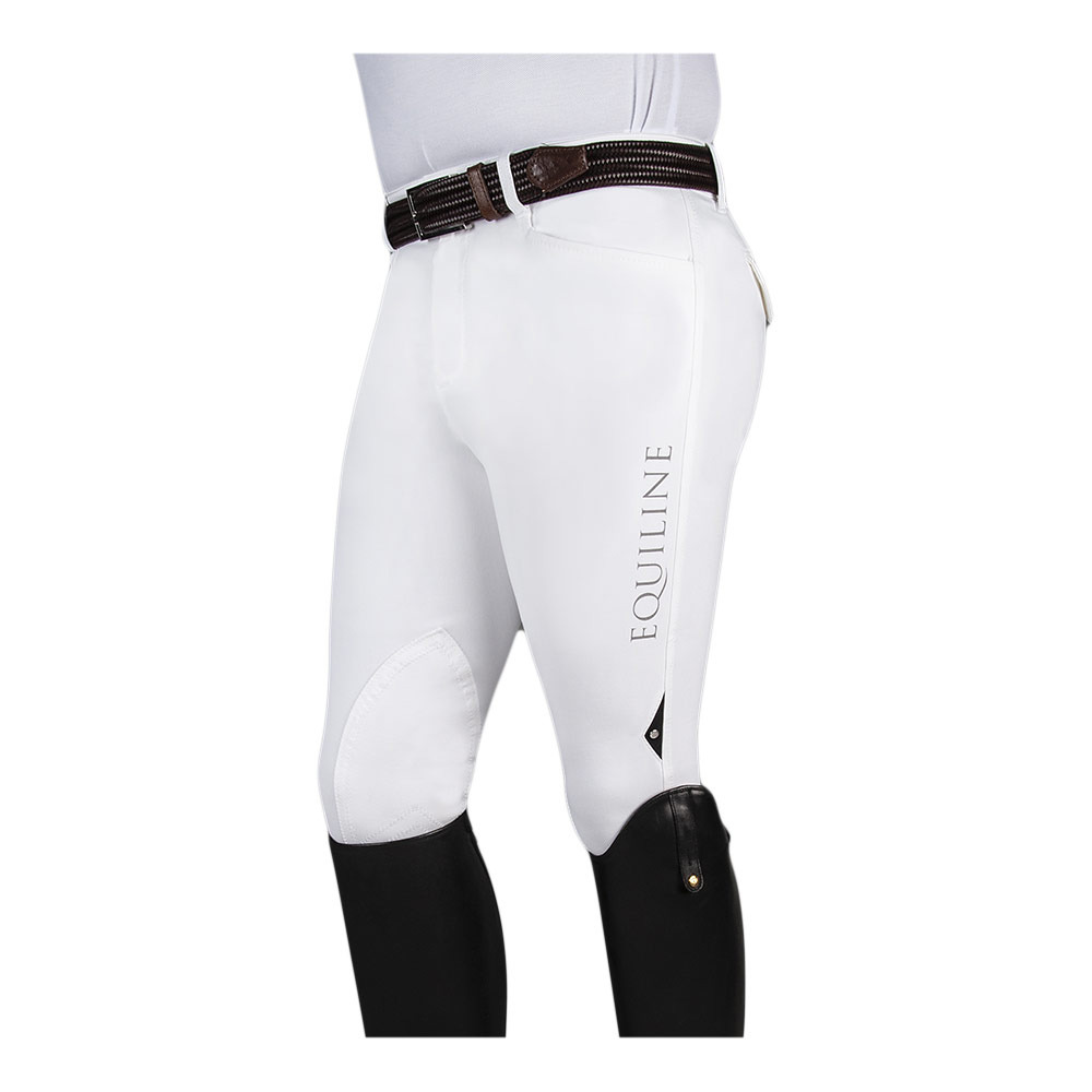 Pantalones Equitacion Equiline Grafton Pantalon Hombre White Private Sport Shop