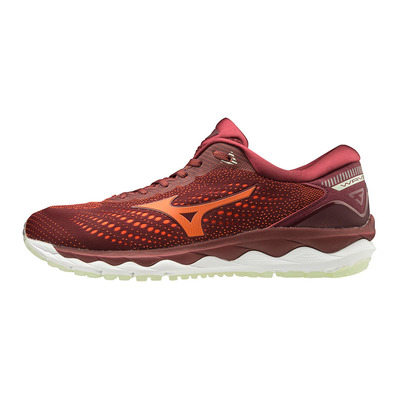 MIZUNO - WAVE SKY 3 - Chaussures running Homme port/tango/bokchoy