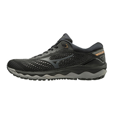 MIZUNO - WAVE SKY 3 - Chaussures running Homme black/shadow