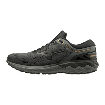 MIZUNO - WAVE SKYRISE - Chaussures running Homme shadow/black