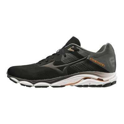 MIZUNO - WAVE INSPIRE 16 - Chaussures running Homme black/black/shadow