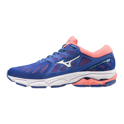 MIZUNO - WAVE ULTIMA 11 - Chaussures running Femme surf web/white/sugar coral