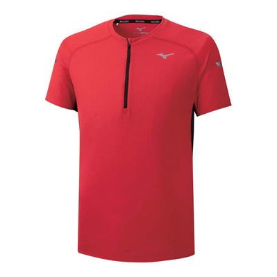 MIZUNO - SOLARCUT HZ TEE - Maillot Homme high risk red