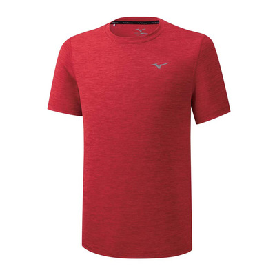 MIZUNO - Impulse Core Tee Homme High Risk Red