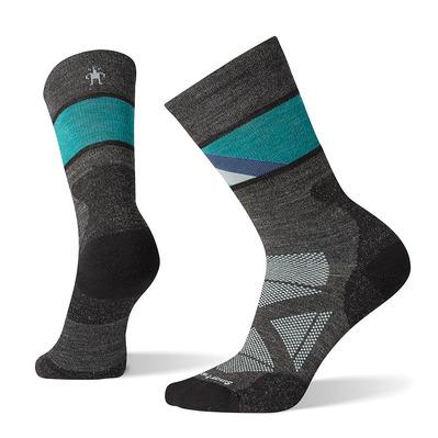 SMARTWOOL - W PhD Pro Aprch Crew CHARCOAL Femme CHARCOAL