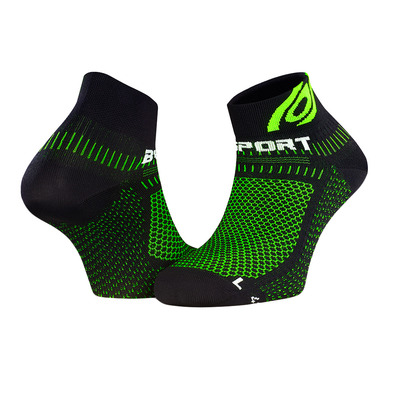 BV SPORT - LIGHT 3D - Calzini nero/verde