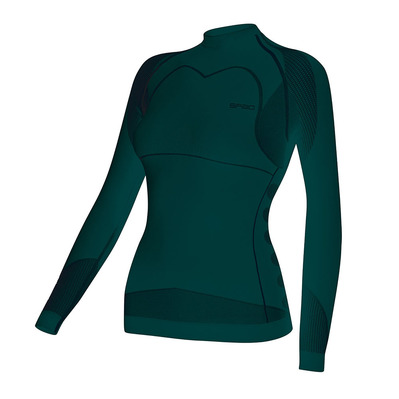 W03 THERMO - Sous-couche Femme wild green