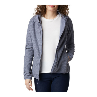 COLUMBIA - Pacific Point Full Zip Hoodie Femme New Moon, Peach Cloud