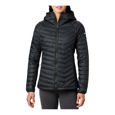 COLUMBIA - POWDER PASS HD - Doudoune Femme black