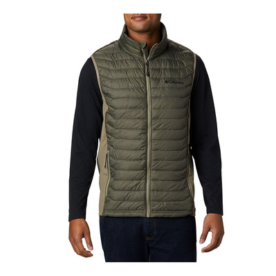 COLUMBIA - Powder Pass Vest Homme New Olive Heather, Sage