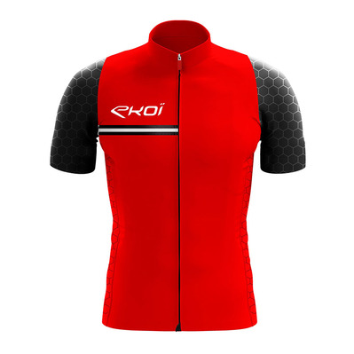 HEXAGONE - Maillot Homme rouge