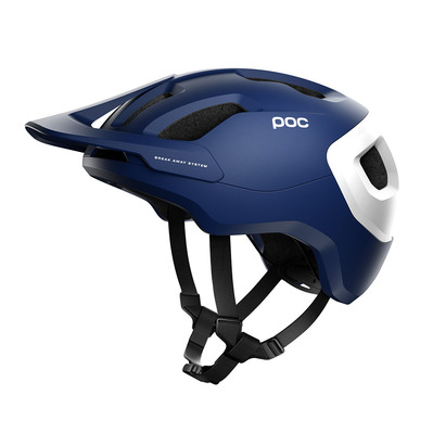 POC - AXION SPIN - Casco MTB lead blue matt