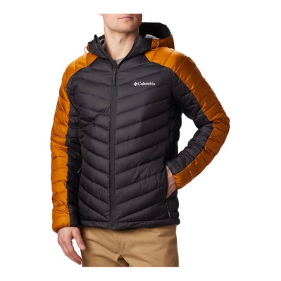 HORIZON EXPLORER™ HOODED - Anorak hombre shark/burnished amb