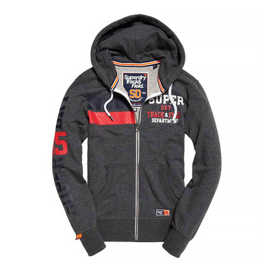 TRACK & FIELD LITE - Sweat Homme charcoal heather grit