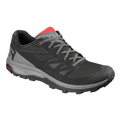 SALOMON - Shoes OUTline Bk/Quiet Shad/High Risk Homme Bk/Quiet Shad/High Risk